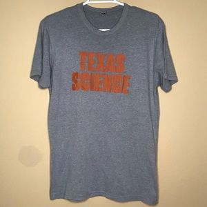 UT Austin Texas Science gray tshirt